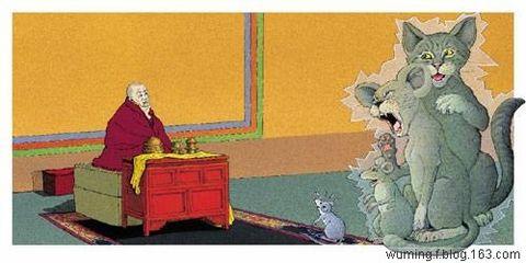 大喇嘛与小老鼠 - 嘉 措 - 嘉 措 的博客