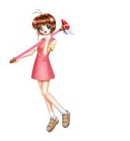 『綿埖吲苚』小樱所有出场服装 - 棉花。糖 - 棉花、一片天。
