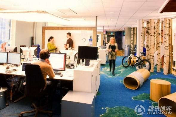 谷歌-VS-Facebook工作环境,你更喜欢哪个? - 花儿向上 - 花儿向上