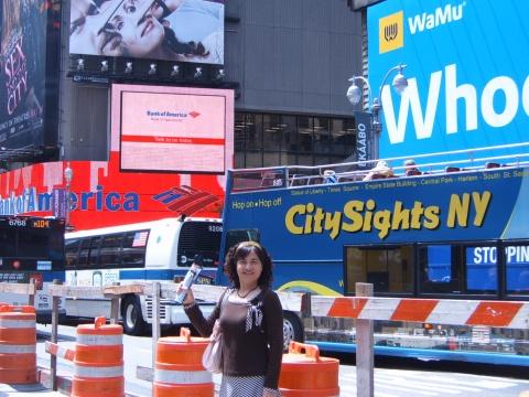 """我的赴美日记[22 ] 纽约""""梦幻之旅"""" - 叶红 - 给自己一个理由,让自己活得更精彩"""