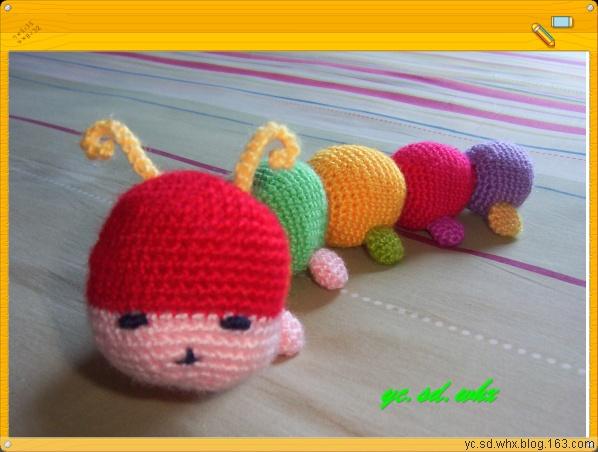 【引用】可爱的毛毛虫[沙发扶手饰物] - 可可 - 可可的博客