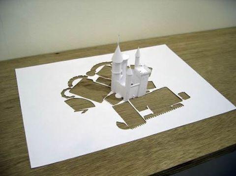 白纸艺术-皮特·卡尔森(丹麦)共36张 - Slim - ●wǒ在這里●
