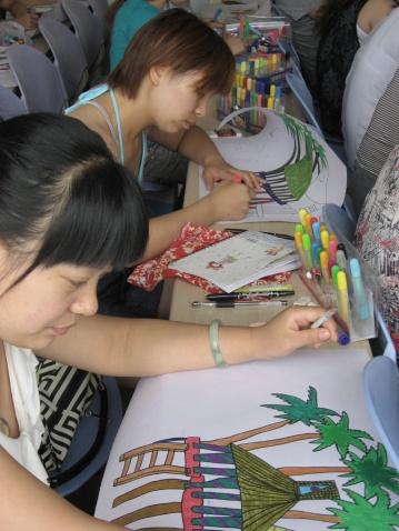 【转载】 暑期幼儿园美术骨干老师们彩笔画创作 - miumiu - miu 的唯美田园·幼儿美术