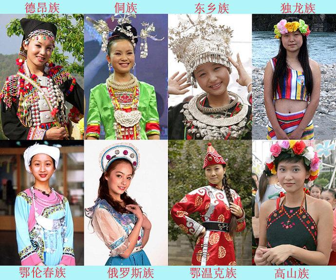 """[中华""""五十六个民族""""简介!-宝贝梦-分享美丽.分享快乐.品味人生"""