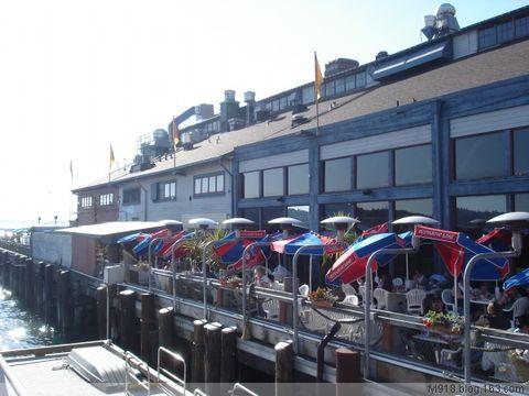 到西雅图观光(11):渔人码头 - 阳光月光 - 阳光月光
