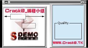 Crack8_编程小组[K.8] 教程专用屏幕录像专家 高压缩率破解版 - QQ黑客吧 - QQ黑客吧