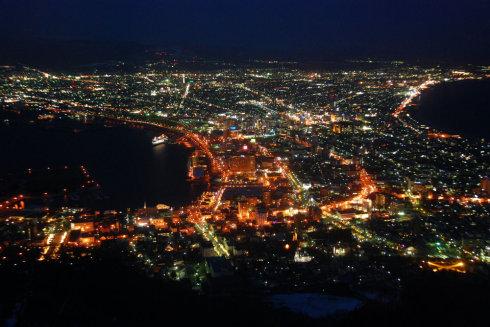 2009日本行(13):北海道之函馆夜景 - 刘兵 - 刘兵的博客