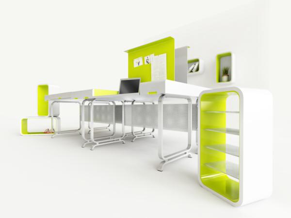 非常有创意电脑桌工作台:workplace - 何泛泛 - 何泛泛|IT独唱团