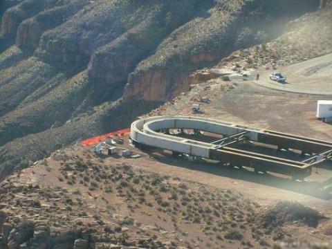 【引用】[景观]美国大峡谷Skywalk(玻璃桥) - 江西老表 - 继续走 继续失去