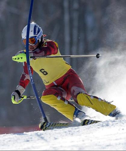 【原创】《浪淘沙●滑雪》 - 寒冰 - 冬雪寒冰