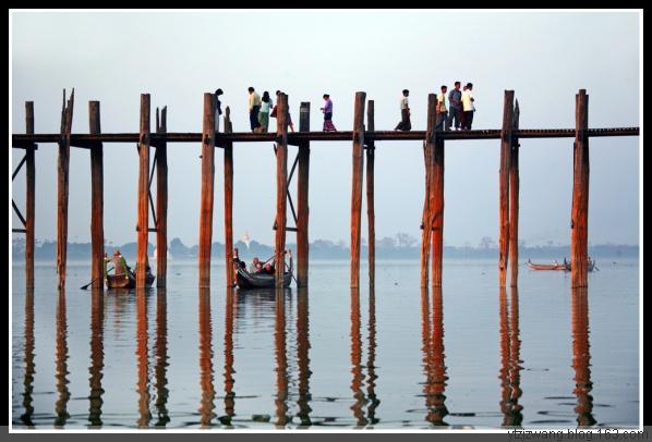 引用 缅甸曼德勒之乌本桥 - 帅很三冷 - 帅很三冷的博客
