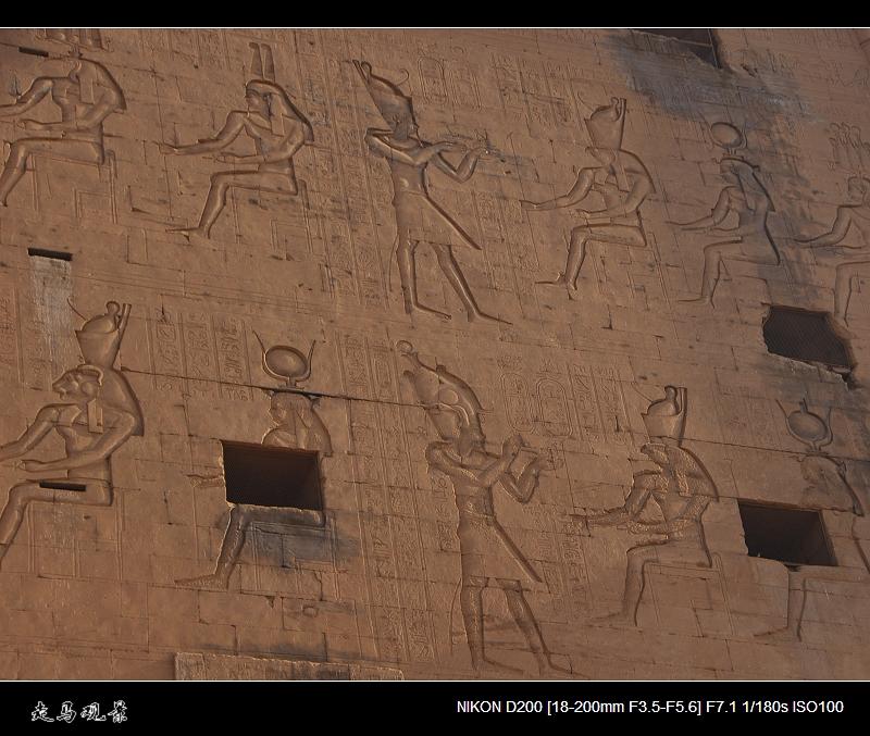 埃及保存最完好的神庙___埃德夫神庙 - 西樱 - 走马观景
