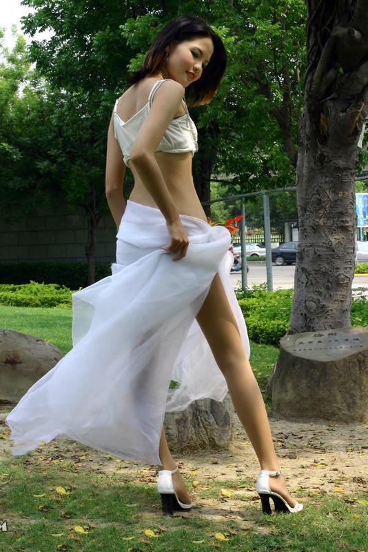 中国第一腿模极品套图