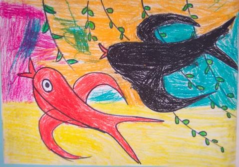 03-04小班下暑假绘画作业40张(3岁半)