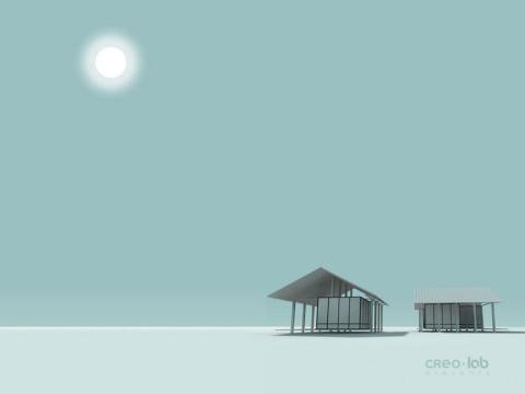 冬夜 - 暮云 - 游泳的游