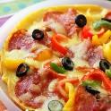 怎样用平底锅做PIZZA