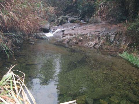 东白山的瀑布 - 江村一老头 - 江村一老头的茅草屋
