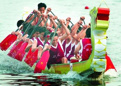 中国特色的龙舟,独步全球