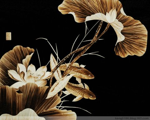 芦苇画精品 - 风轻扬 - 如瓷淡淡的博客