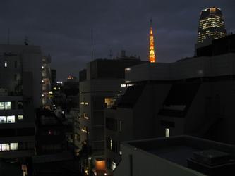 东京的黄昏