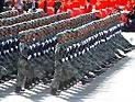 步兵方队通过天安门接受检阅