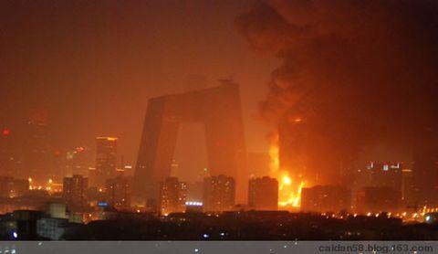 浴火后的新央视北配楼 - caidan58 - 陆岩的博客