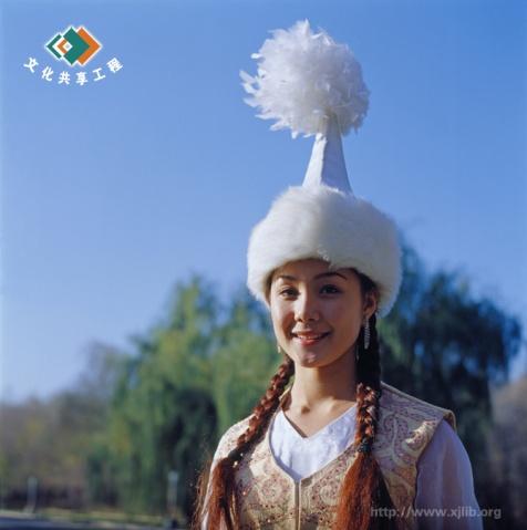 柯尔克孜族美女