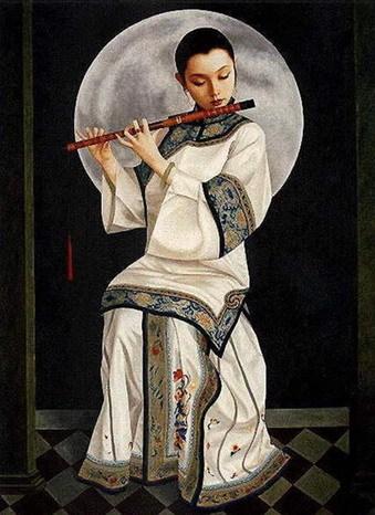 月与乡愁 - 和静 - 心结和静