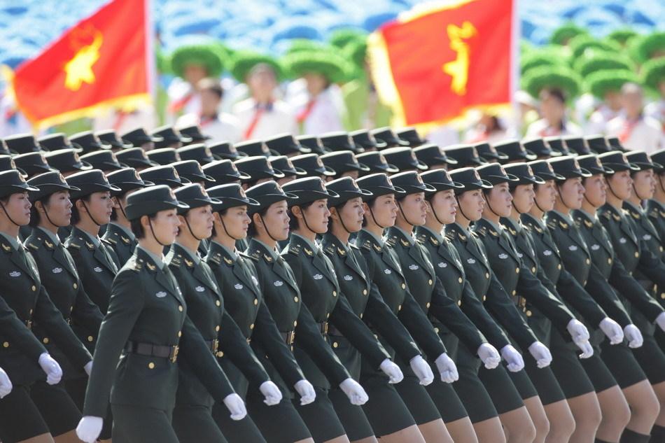 国庆阅兵三军仪仗队 - BOYOUNG - by90890 的博客