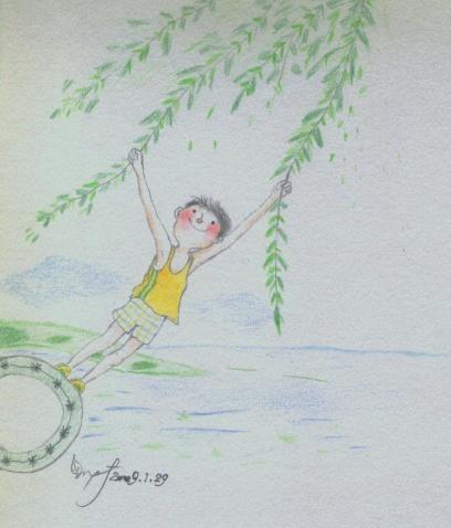 懒马临摹。2009.1.29。 - 懒马 - 懒马|懒惰的马鹏芳|我的图画小品。