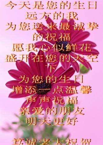 引用 《笃诚老大》祝静水澜语妹妹生日快乐(原创) - 静水澜语 - .