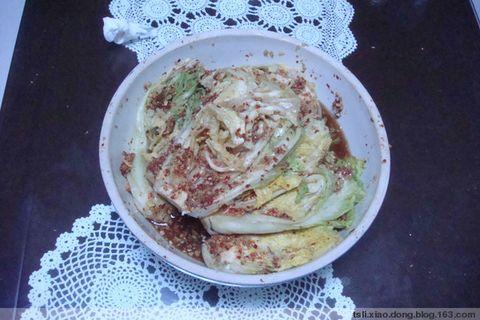 朝鲜辣白菜 - 云在西天 - tsli.xiao.dong的博客