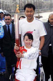 2008年4月27日,中国最美的女孩金晶;