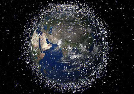 美俄卫星相撞12000块碎片绕地球转(组图) - 光流 - 一纸空文