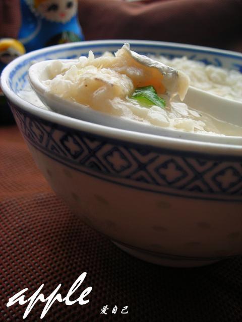 吃一碗让超过2/3中国人朝思暮想的粥-----鲜美带鱼粥 - 可可西里 - 可可西里