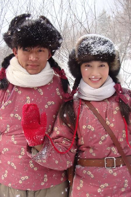 她在雪中笑 - 甘婷婷 - 甘婷婷 的博客
