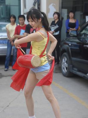 《腰鼓传奇》进行时~ - 袁菲 - 袁菲 的博客