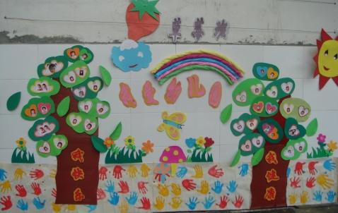 我爱幼儿园主题墙面