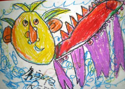 孩子眼中的四不像  系列二 - 彤馨童画 - 彤馨·童画的博客