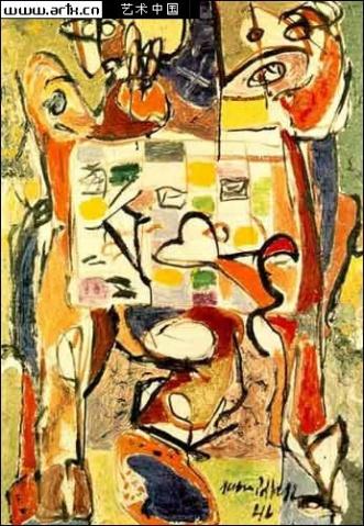 美国抽象画家 美国现代抽象画家 美国抽象派画家