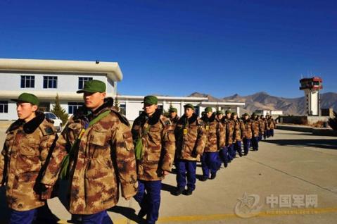 入藏新兵07军服很帅气 - 披着军装的野狼 - 披着军装的野狼