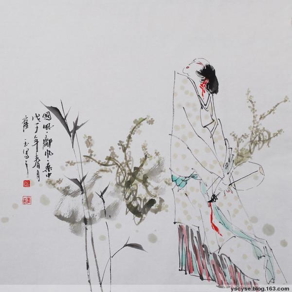 读《刘禹锡游玄都观》有感 - 余音 - 汀兰小居