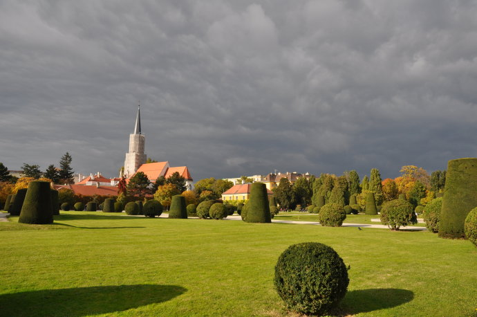 奥地利维也纳美泉宫的教堂 - 陶东风 - 陶东风