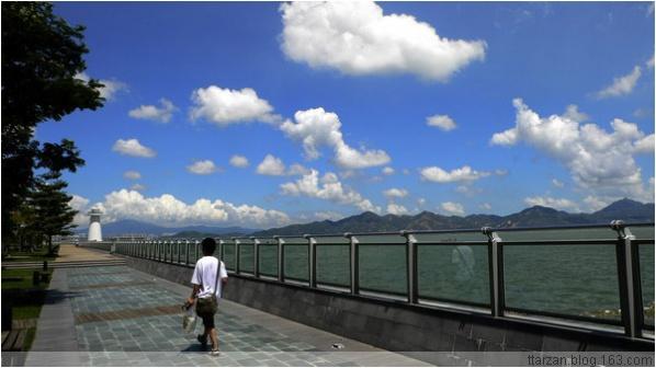 [原]深圳·蛇口海滨·今年最晴朗的一天 - Tarzan - 走过大地