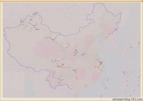 我的旅行足迹(已更新到2008年) - jennyyjw - yang-jenny的旅行博客