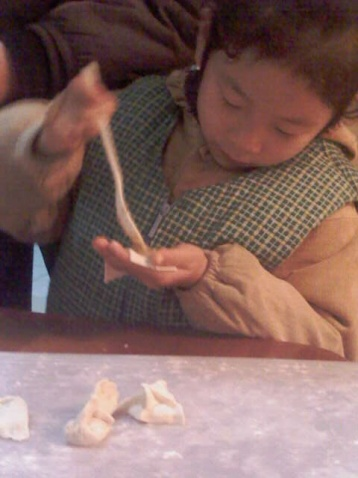 冬至包饺子 - jiaheteng - 小女阿贝的博客