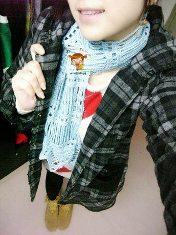 韩式的流苏状围巾 - 紫藤小妖 - 小妖的妖精窝