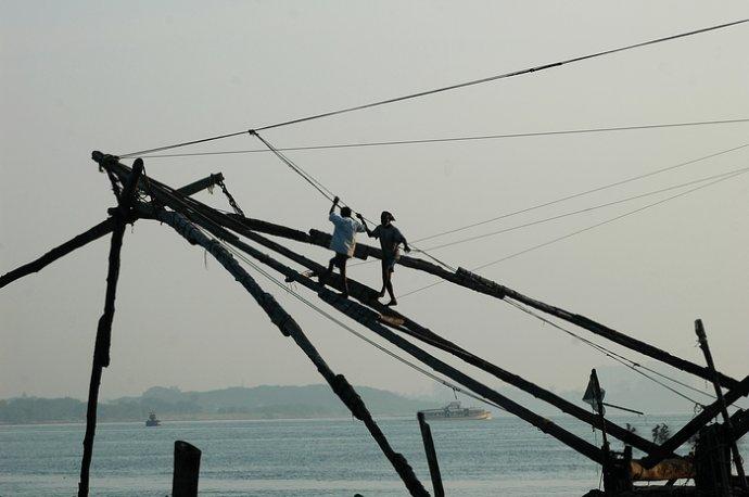中国渔网在南印度 - Y哥。尘缘 - 心的漂泊-Y哥37国行