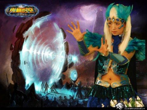 我代言的一款网络游戏照 - 韩国媚眼天使sara - 韩国媚眼天使sara   博客