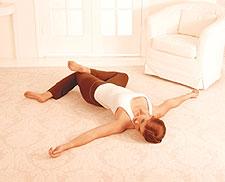 拉伸使你轻松面对减肥 - 秀体瘦身 - 金山教你如何边吃边减重